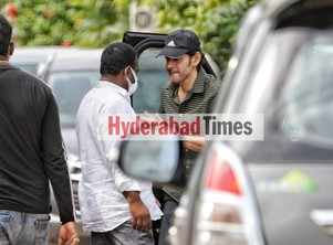 Spotted: Mahesh Babu joins the sets of Keerthy Suresh co-starrer Sarkaru Vaari Paata
