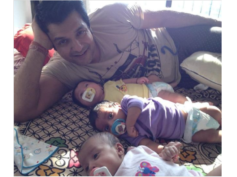 Vinay Anand shares an adorable throwback memory with his kids