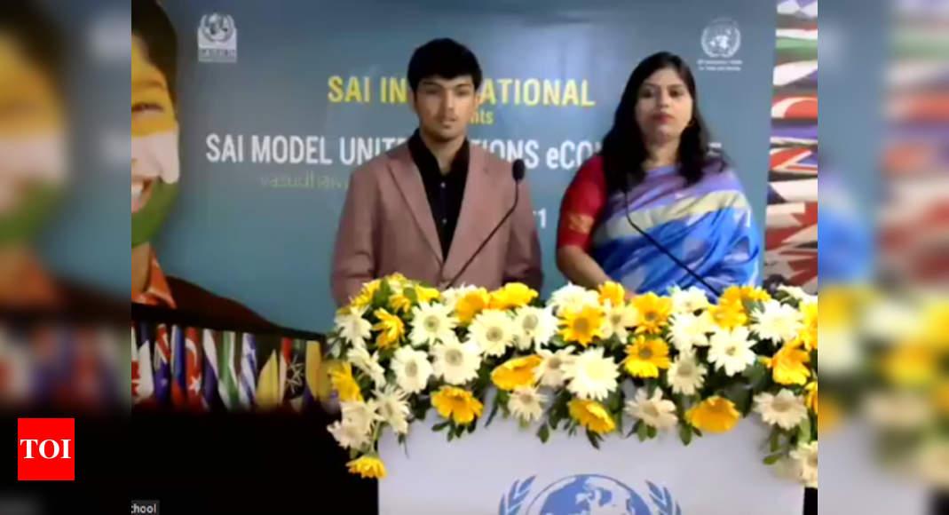 Photo of SAIMUN e-conference inaugurated – Times of India