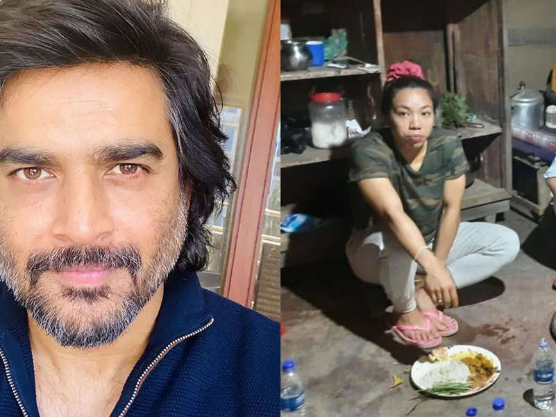 R Madhavan shocked to see Olympian Mirabai Chanu's humble picture from her house in Manipur: 'This can't be true'