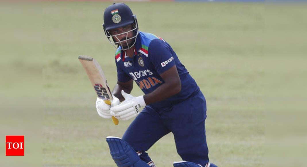 Sanju Samson wastes a golden chance in Sri Lanka | Cricket News – Times of India