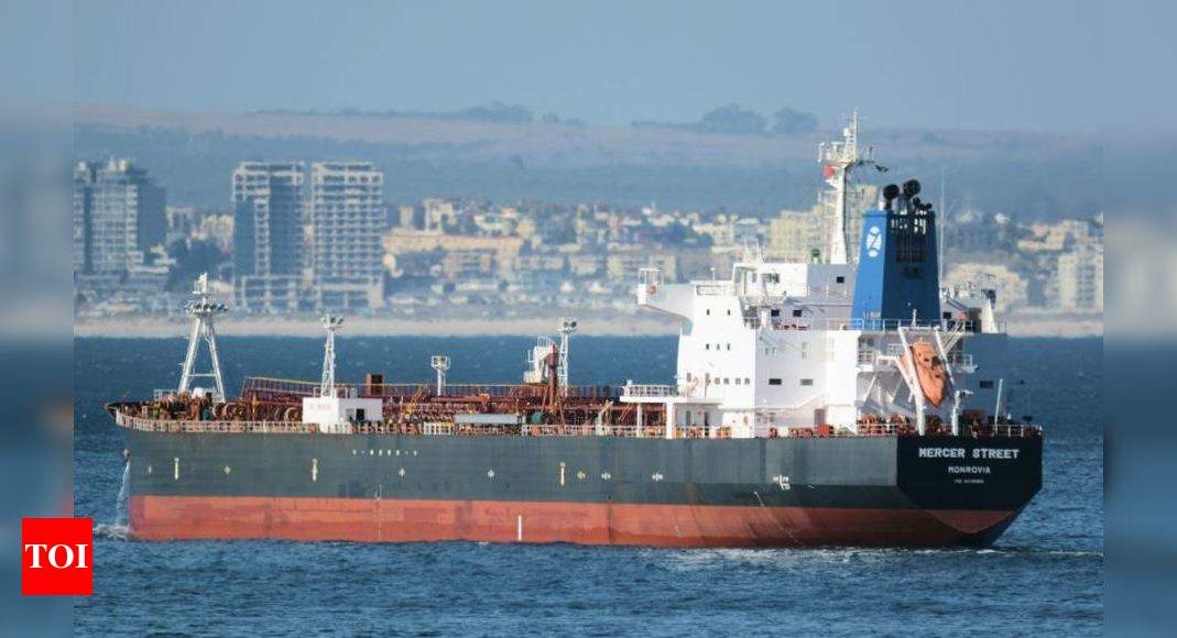 Israel blames Iran for attack on tanker off Oman that killed two