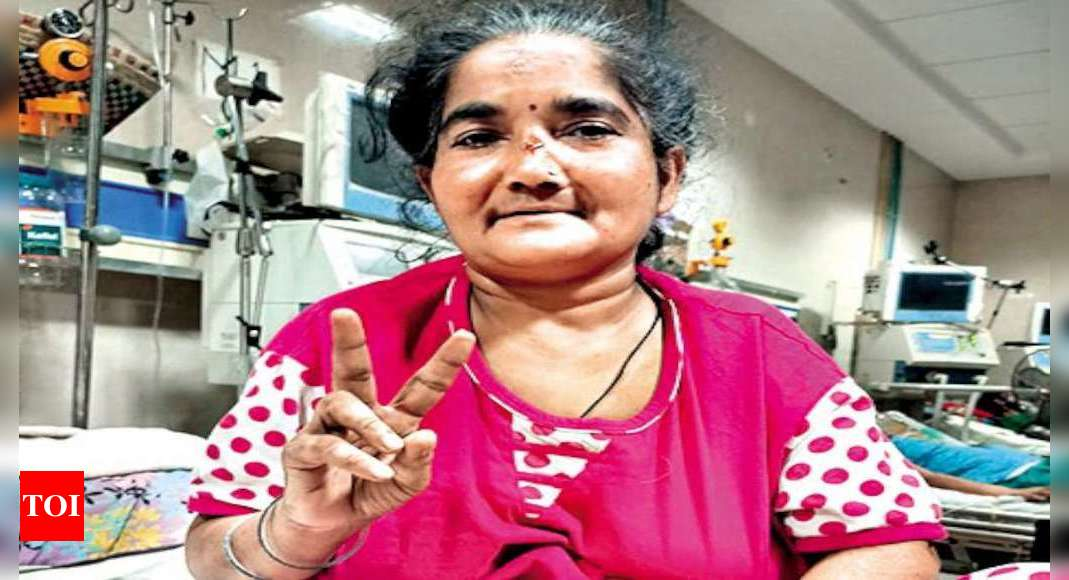 UP woman beats Covid after 100 days