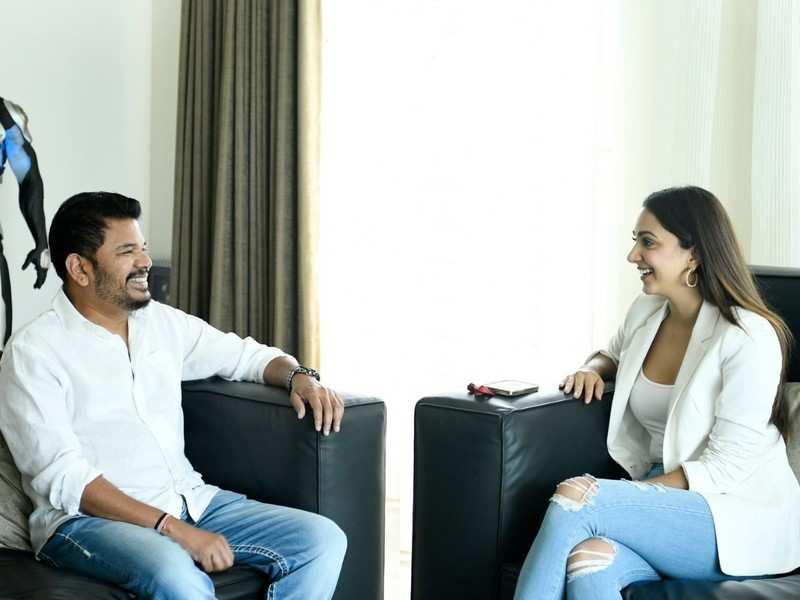 Kiara Advani in Shankar's Pan India film 'RC 15' with Ram Charan