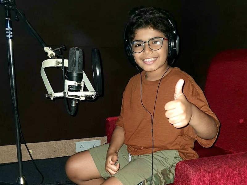 Arun Vijay's son Arnav starts dubbing for his debut film