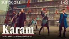 Watch New Hindi Sufiscore Song Music Video - 'Karam' Sung By Ustad Hamid Ali Khan Featuring Raga Boyz