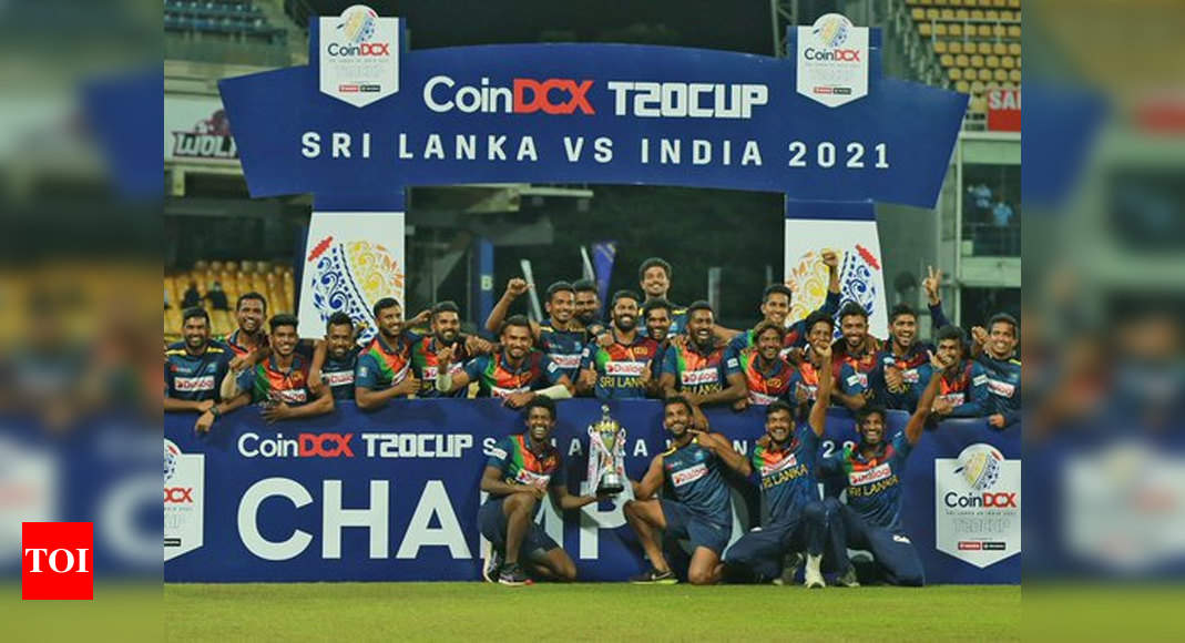 Sri Lankan cricket board announces USD 100,000 cash prize after team's win against India in T20I series   Cricket News – Times of India