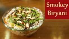 Watch: How to make Charcoal Biryani