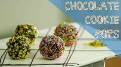 Watch: How to make Chocolate Cookie Pops