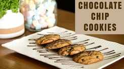 Watch: How to make Eggless Choco Chip Cookies
