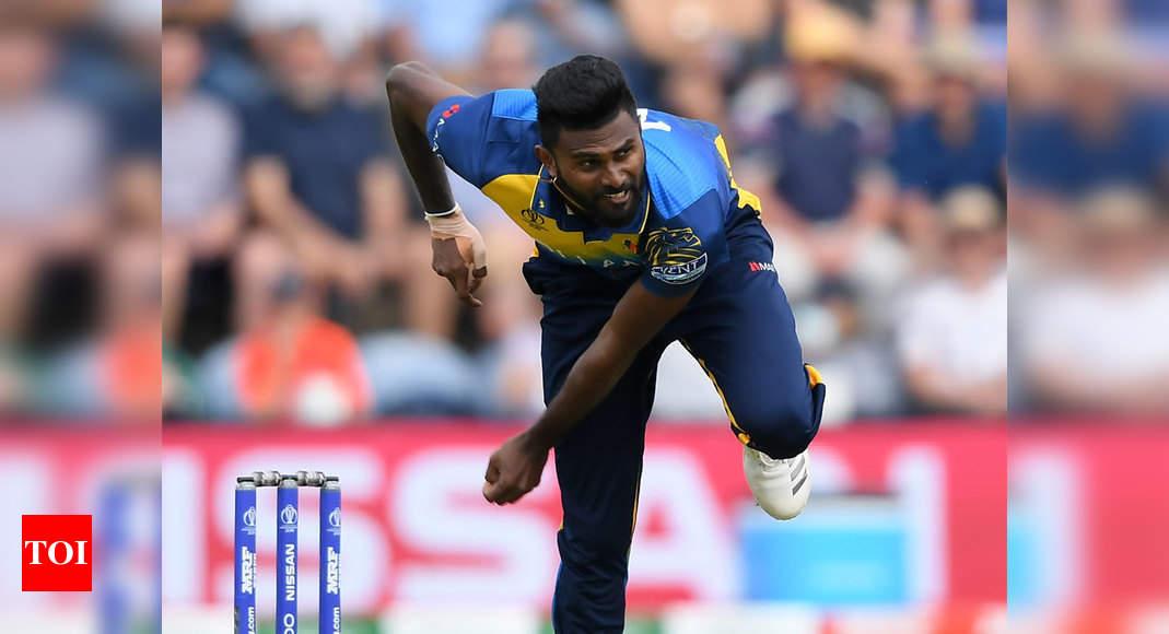 Sri Lanka all-rounder Isuru Udana retires from international cricket