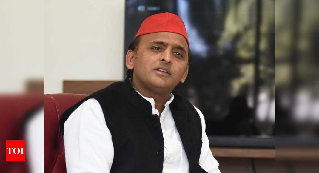 BJP using 'e-Ravanas' on social media to spread propaganda and hatred: Akhilesh Yadav