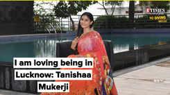 I am loving being in Lucknow: Tanishaa Mukerji
