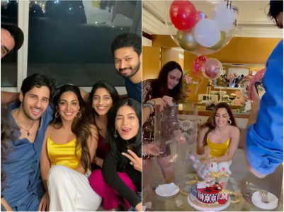 Sidharth attends Kiara's intimate B'Day Bash