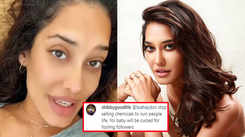 Lisa Haydon gives the perfect one-word reply to a troll saying her 'baby will be cursed'