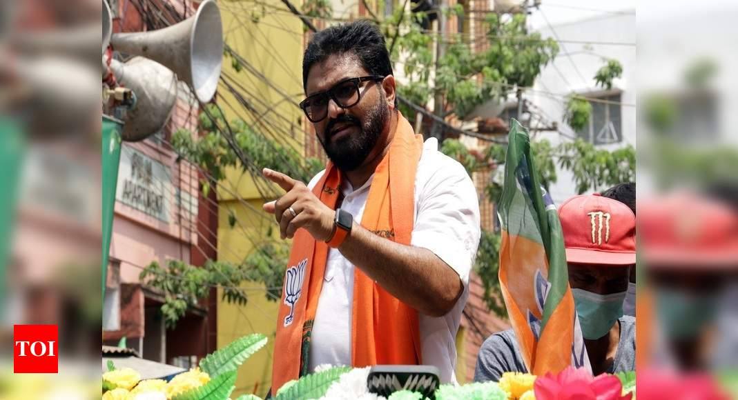BJP's Babul Supriyo announces exit from politics, says will also resign as MP | India News – Times of India