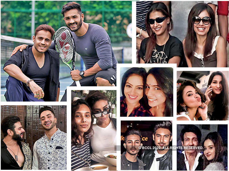 TV actors share stories of their special friends who they met when they started their acting careers
