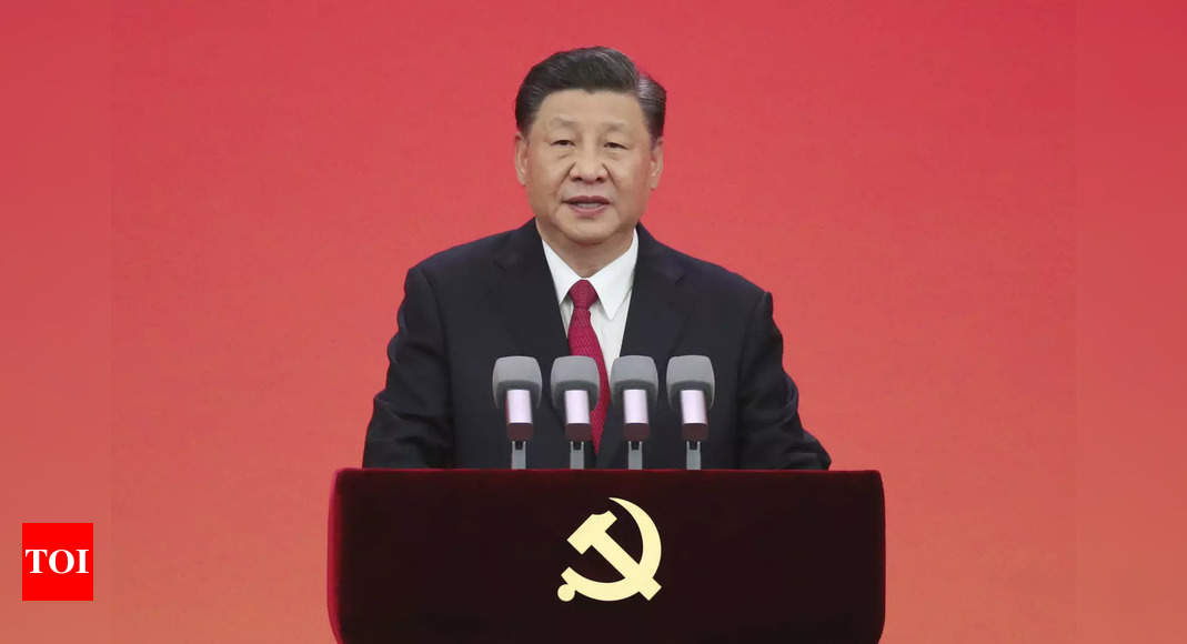 CPC 'commands the gun', says Xi as he asks Chinese military to expedite modernisation process – Times of India
