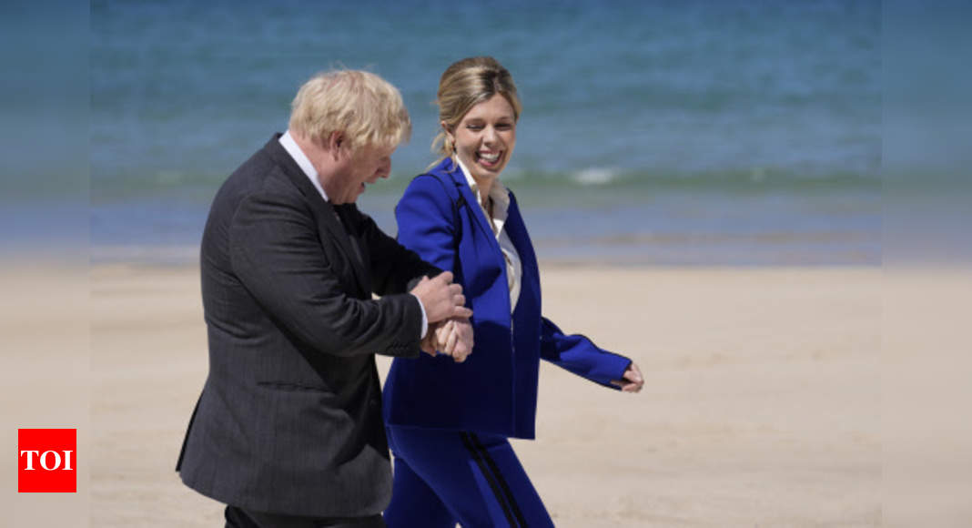 UK prime minister's wife says she's pregnant again – Times of India