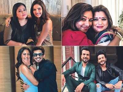 TV celebs' BFFs at work place; in pics