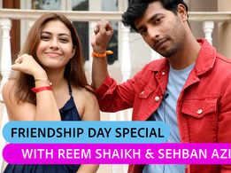 Happy Friendship Day: Tujhse Hai Raabta fame Reem Shaikh and Sehban Azim take the friendship quiz