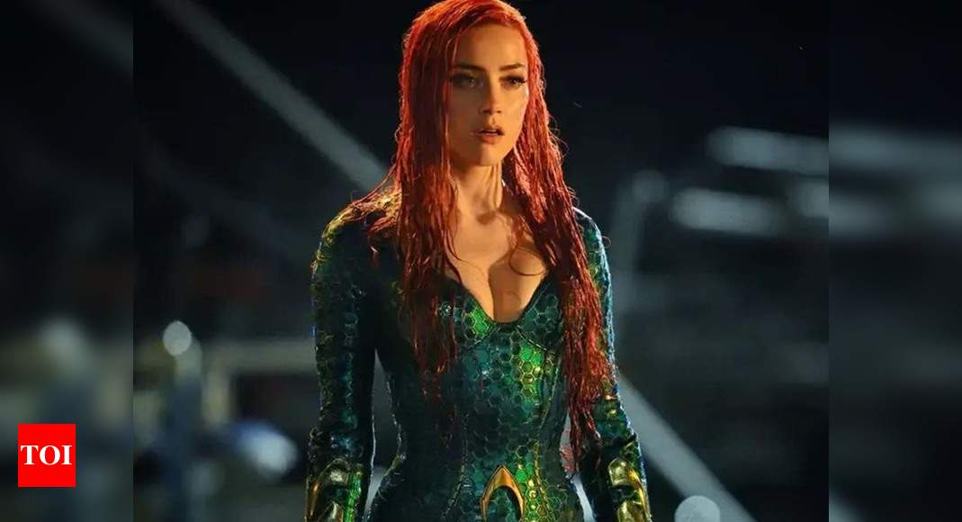 'Aquaman 2' producer opens about not removing Amber Heard from film – Times of India
