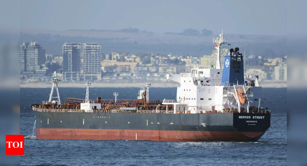 US to help investigate lethal attack on Israeli-managed tanker – Times of India