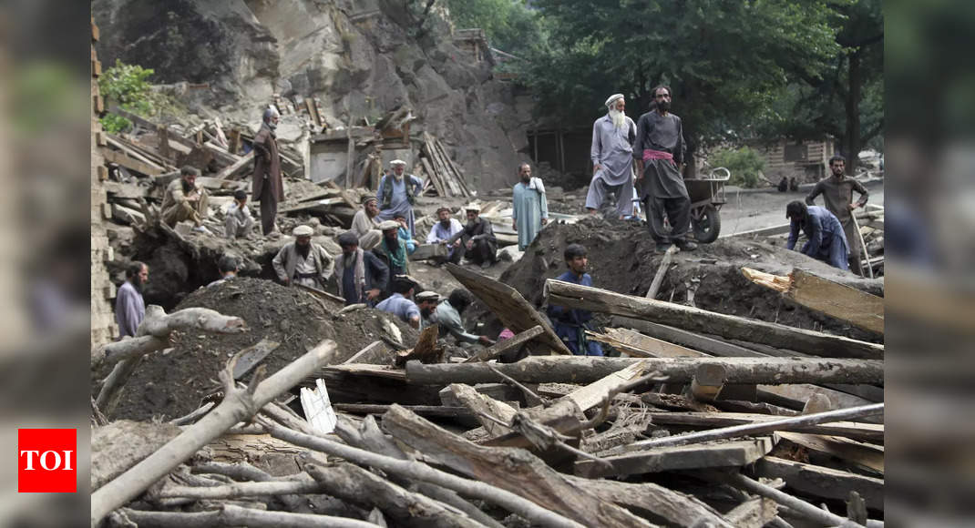 Afghanistan flash flood: Death toll rises to 113 – Times of India
