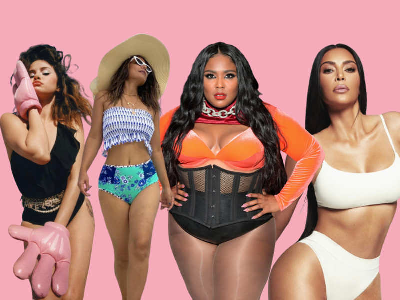 """<p><strong style=""""""""><sup><em>From Lizzo to Kim Kardashian, Selena Gomez, Hina Khan, among others, have glamourised <span class=""""il"""" style="""""""">granny <span class=""""il"""" style="""""""">panties</span> at red carpet</span> events, stage performances, on magazine covers, in music videos and even while simply chilling at home</em></sup></strong></p><p><strong><sup><em><br></em></sup></strong></p><p><strong><sup><em>Pics: Selena Gomez: @selenagomez; Hina Khan: @realhinakhan</em></sup></strong><strong style=""""""""><sup><em>; Lizzo: AFP; Kim Kardashian: @kimkardashian </em></sup></strong><span class=""""redactor-invisible-space""""></span></p><p>  <br></p>"""