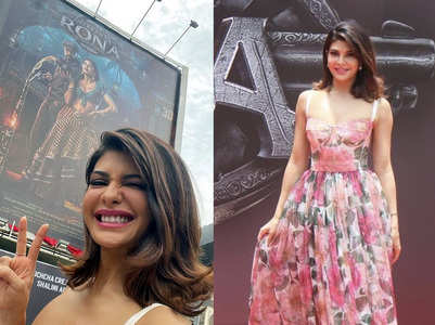 Jacqueline's pics from Vikrant Rona poster launch