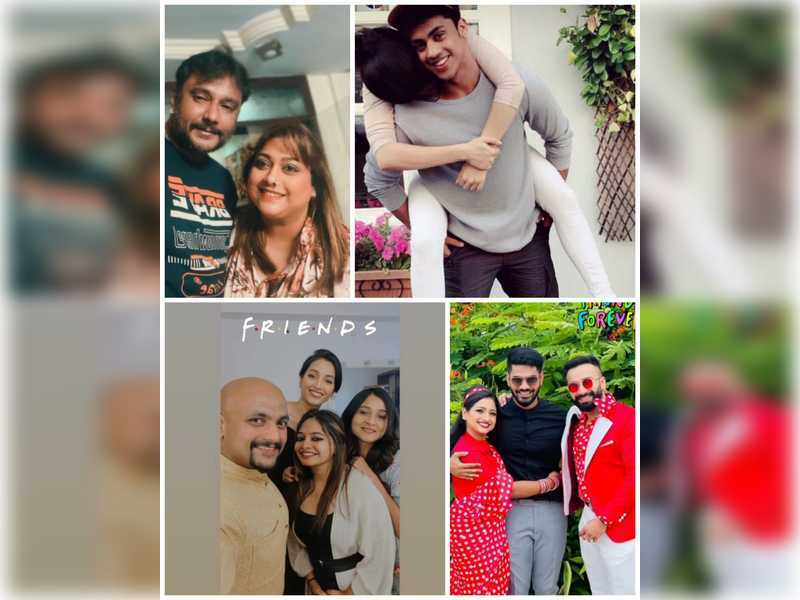 Friendship Day 2021: Sandalwood celebrates with posts and videos dedicated to their gang