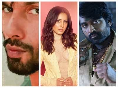 Shahid is excited to work with Vijay-Raashi