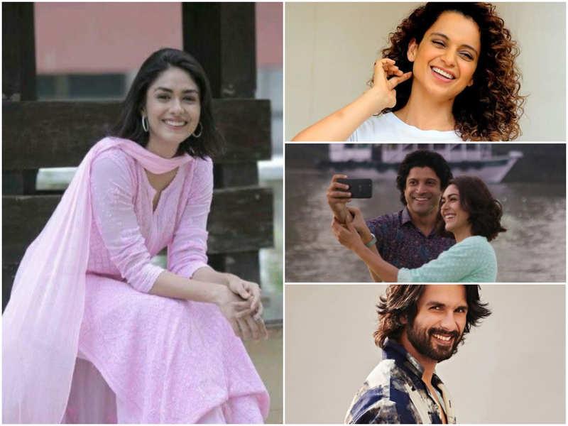 Kangana Ranaut, Farhan Akhtar, Shahid Kapoor and other celebs pour in heartfelt wishes for Mrunal Thakur's birthday