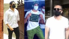 Bollywood hunks Sidharth Malhotra, Suniel Shetty, Kartik Aaryan get clicked by shutterbugs