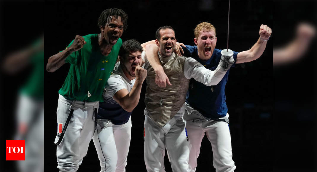 Fencing: France take record eighth team foil gold