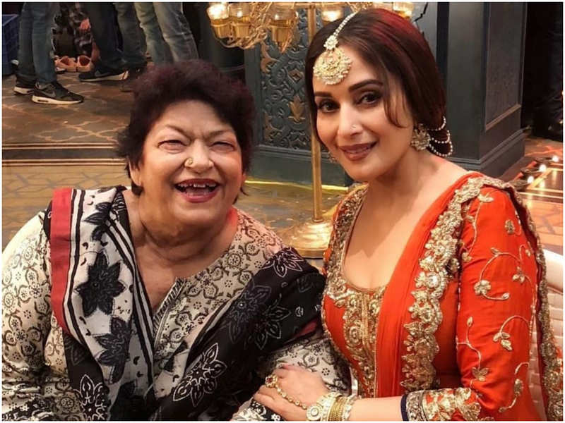Saroj Khan's daughter wants Madhuri Dixit to be the narrator of her mother's biopic; Remo D'souza isn't directing it- Exclusive!