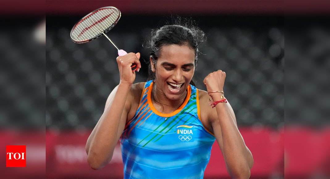 India rejoices after shuttler PV Sindhu's second Olympic medal