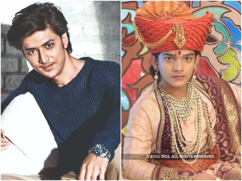 Kinshuk Vaidya and Krish Chauhan as Khanderao Holkar