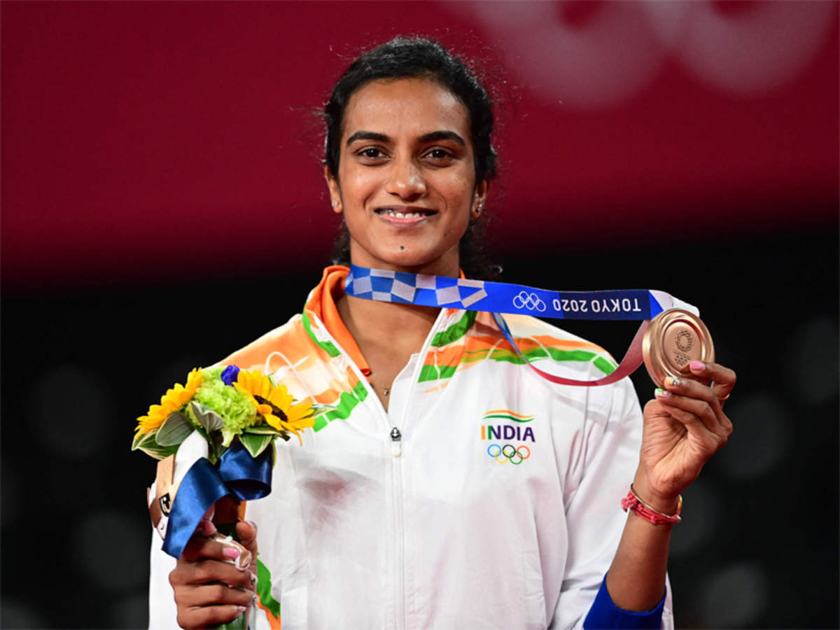 PV Sindhu: Sindhu Badminton Records, Ranking, Medal List and Biography   Tokyo Olympics News - Times of India