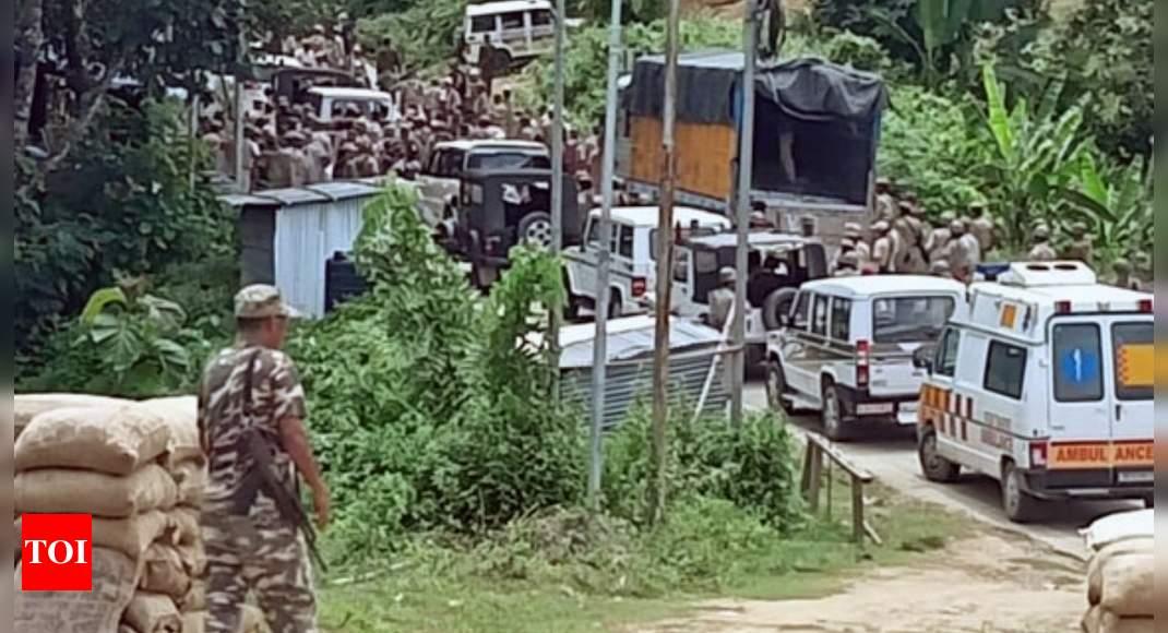 Assam & Mizoram bury hatchet on Shah prod; FIR on Sarma to be nixed | India News – Times of India