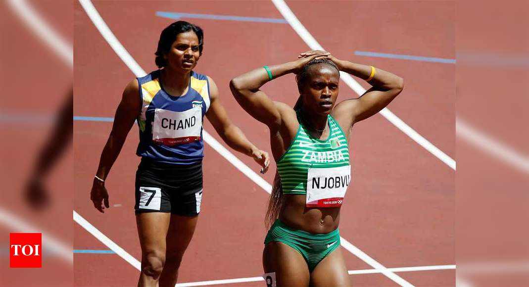 Tokyo 2020: Dutee Chand fails to qualify for 200m semifinals