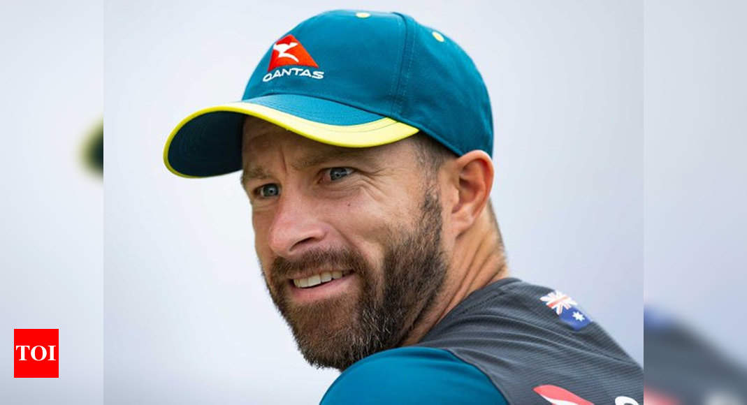 Matthew Wade to captain Australia for five T20Is in Bangladesh | Cricket News – Times of India