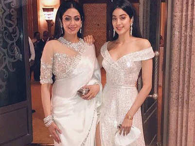 Janhvi's dream wedding has a Sridevi connect