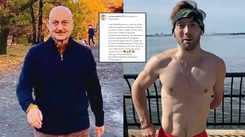 Anupam Kher shares a video of an inspirational man he met in New Jersey, says 'World is really full of such incredible people!!'