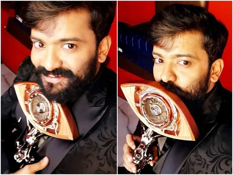 Bigg Boss Malayalam 3 winner Manikuttan beams with joy; shares a note thanking fans