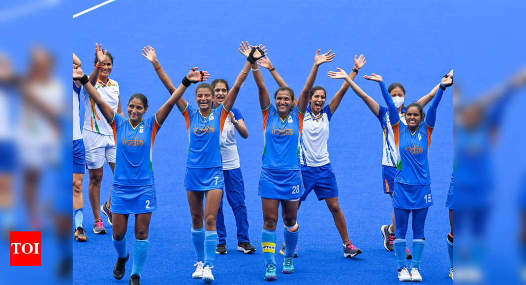 India rejoices as women's hockey team makes maiden entry into Olympic semifinals