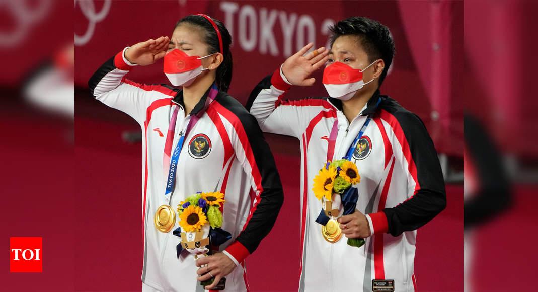 Indonesia breaks Chinese stranglehold in badminton women's doubles