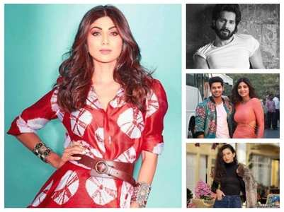 Shilpa receives support from Varun, Jacqueline