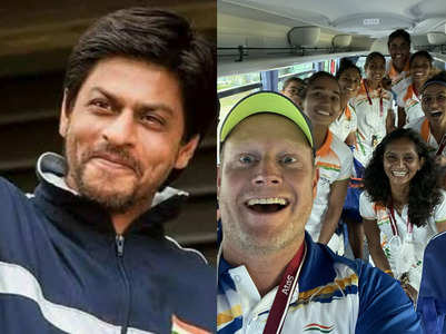 SRK reacts to Indian Women's hockey team's win
