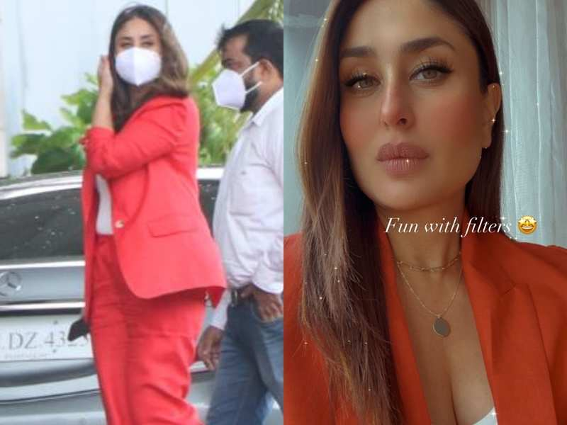 Kareena Kapoor Khan shares her guide to power dressing in a red pantsuit